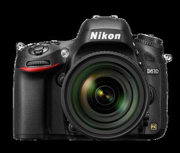 Nikon D610 (photo from Nikon)