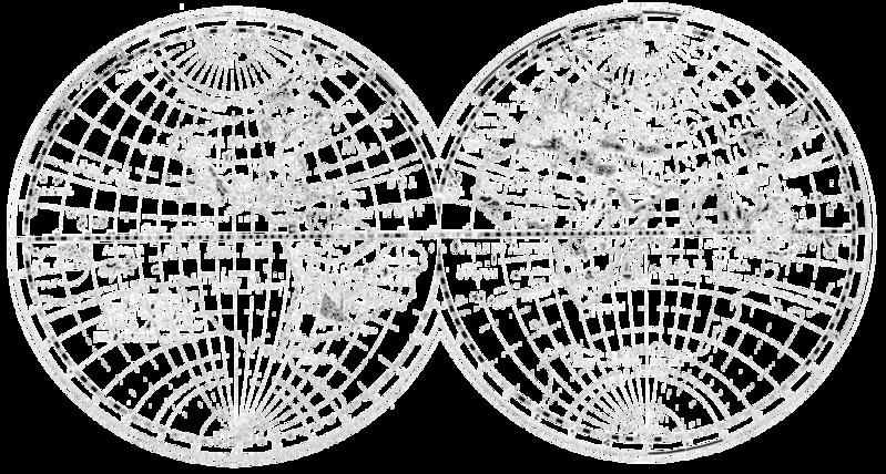 wereld oud logo zwart