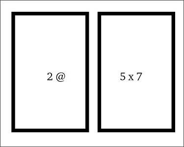 5x7 diagram
