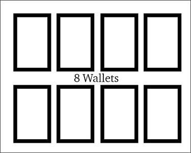 8 wallet diagram