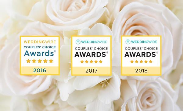 2016 2017 2018 Couples Choice Award