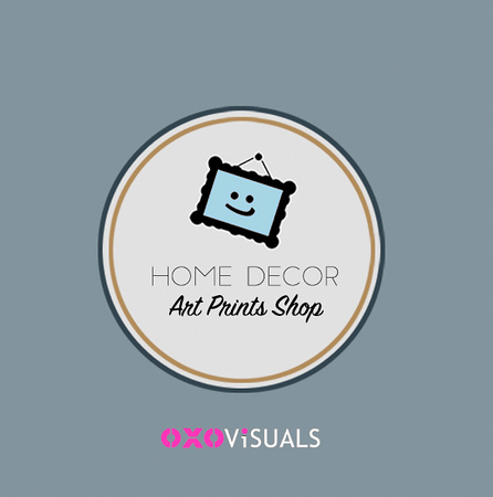 art prints shop oxovisuals logo