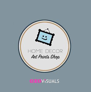 art prints shop oxovisuals logo
