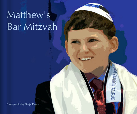 Matthew's Bar Mitzvah Book Preview Blurb Books