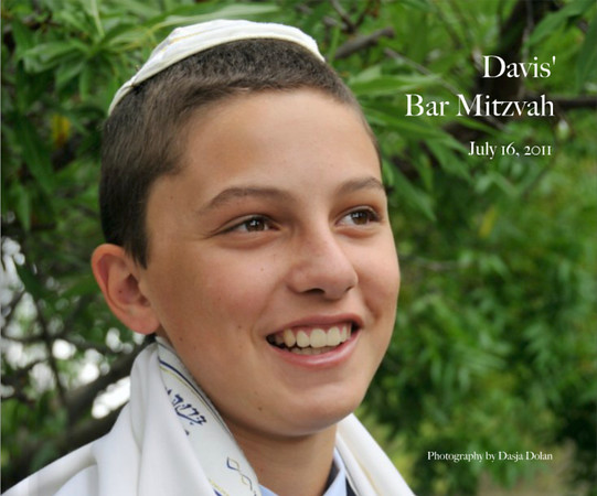 Davis' Bar Mitzvah July 16, 2011 Book Preview Blurb Books