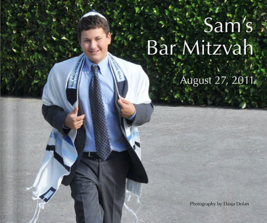 Sam's Bar Mitzvah Book Preview Blurb Books