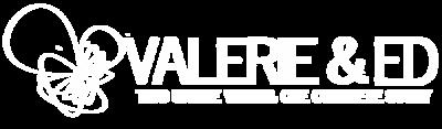 valerie and ed logo 3 white