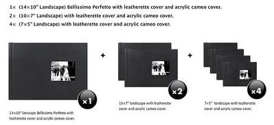 "Perfetto bundle (7 Albums) £14""x10"""