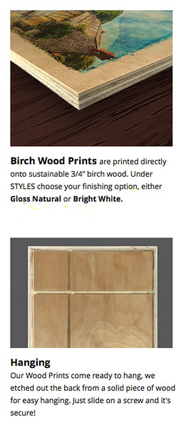 Birch Wood Prints