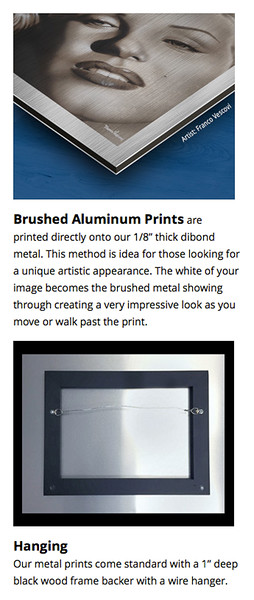 Brushed Aluminum