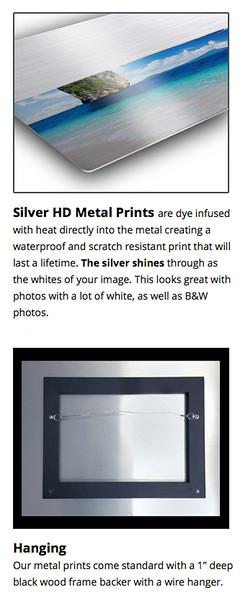 Silver HD Metal