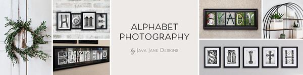 Alphabet Photography Banner