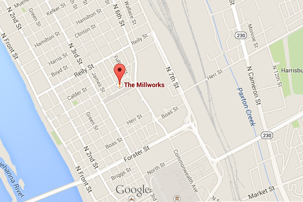 Millworks Map Midtown