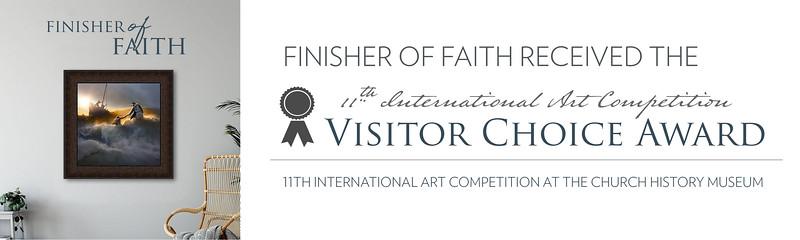 Visitor's Choice Award - Banner