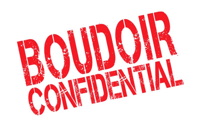 Boudoir Confidential logo red