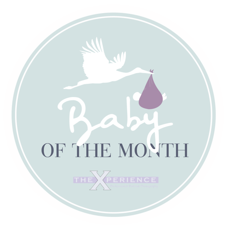 Baby of the month circle blue-02