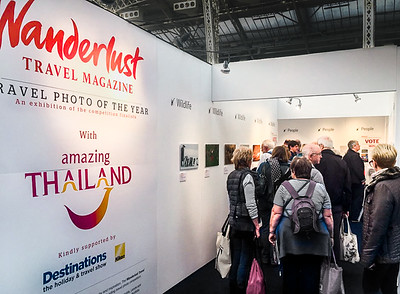 Destinations travel show, London