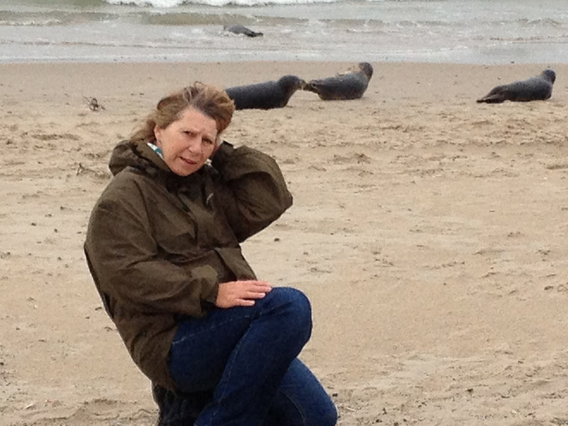 I with some seals :-) The picture was taken at Grenen close to Skagen.