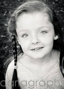 Olivia's sweet smile bw-4623