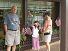 Family in front of the Candy Store, The Fudge Shoppe<br /> Dahlonega, Ga - July 20, 2007