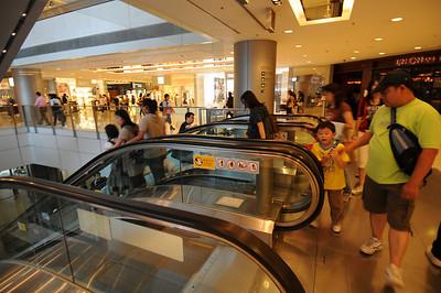 Down to Hong Kong MTR Station