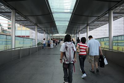 Approaching IFC Mall...