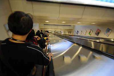Lonnnnnng escalator