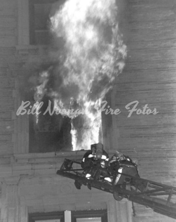 March 1979...the night of the two hotel fires...this was the first one, the Copley Plaza, 5 alarms ++...many guests were taken over ladders and at least one person died....both fires were arson and the person was captured..and was sent to jail...