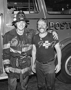 Jay and Danny...two of the best...RIP Danny....this photo was taken after a 3rd alarm in South Boston fall of 1979...
