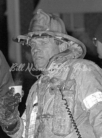 the Commish'...at a 9th alarm on Mercer Street, South Boston...