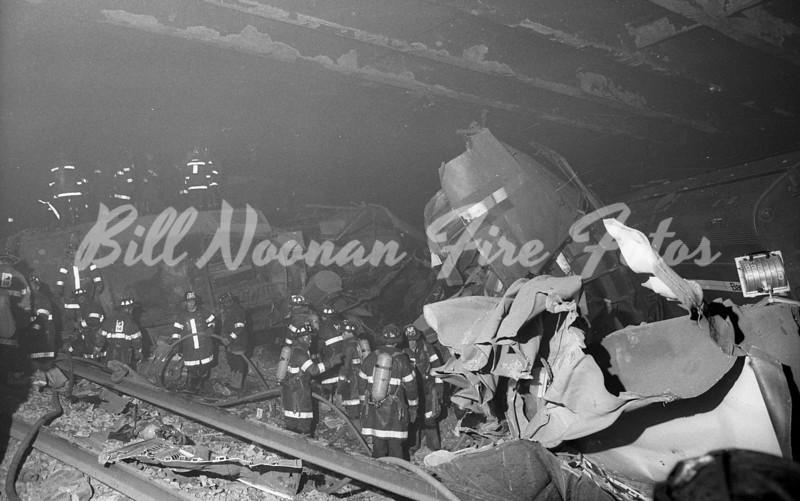 BACK BAY TRAIN CRASH 12-1990 25039
