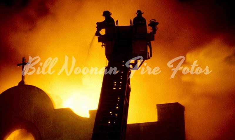 Holy Smoke....St. William's Church, Dorchester Avenue...circa 1980...