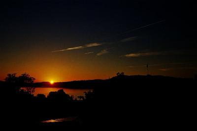 Sunset in Geneva