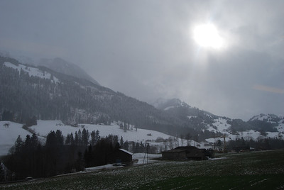 Snow and the sun