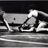 Intramural wrestler gets his shoulder dislocated, Memphis State University, Fall, 1986