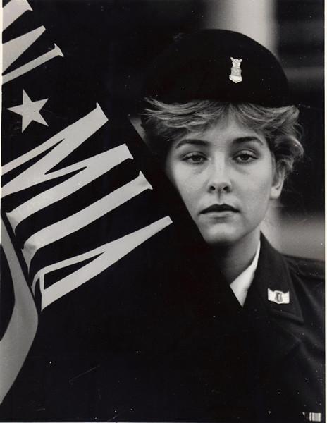 Veteran's Day Memorial, Memphis State University, November, 11, 1987
