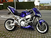 My self built FZR 1000 Exup Streetfighter ! Sold !!