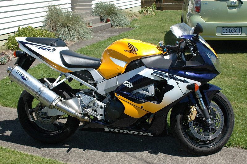My NZ bought Fireblade.
