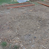More before shots, that circle in the center used to be the fire pit, it turned into a holding area for the manure this year :) next year it will be its own bed for sure!