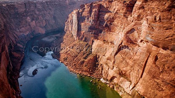Glenn Canyon Dam, Page, Arizona