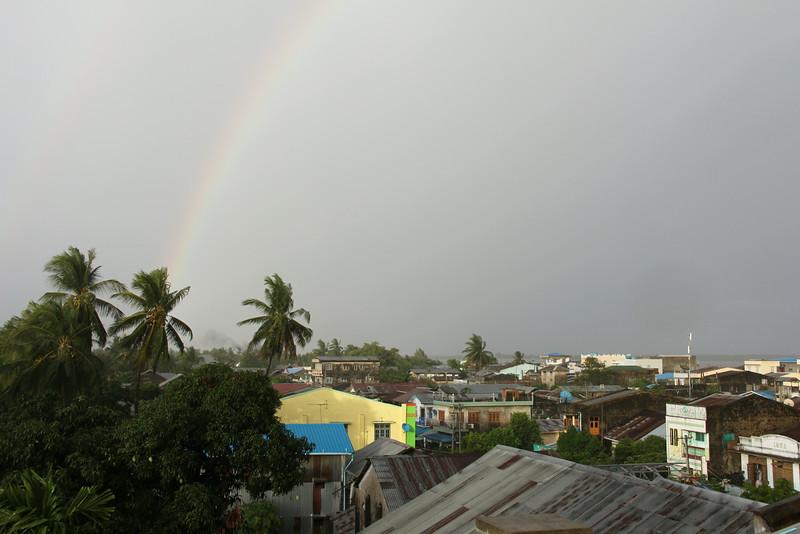 Rainbow over Laputta
