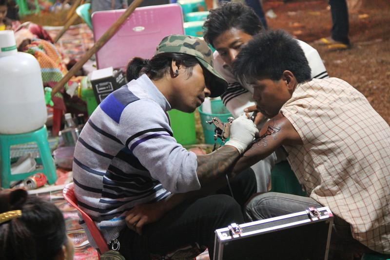 taunggyi balloon festival tattoo - shan state