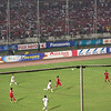 SEA Games soccer match in Yangon - Myanmar vs. Thailand