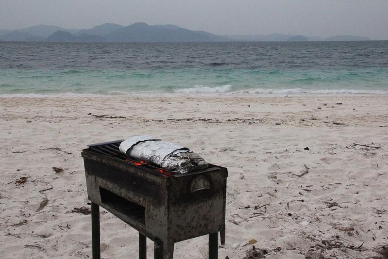 BBQ on the beach! Merge Archipelago