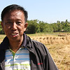 Zin Maung Maung (colleague) in the delta