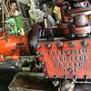 Old British rice mill engine