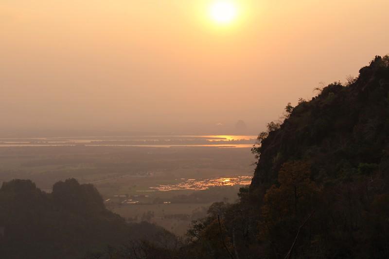 From Mt. Zwegabin, Hpa An