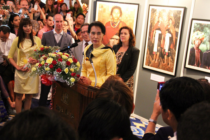 the lady - aung san suu kyi