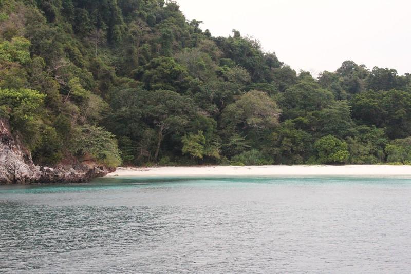 Secluded beach. Merge Archipelago