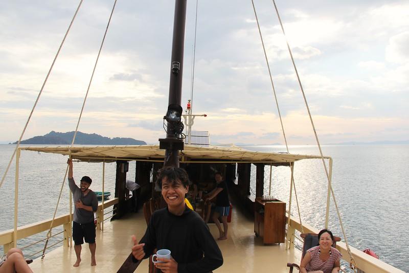 Our boat. Mergui Archipelago